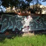 Odstranění graffity speciální chemií