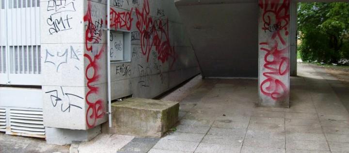 Odstranění graffity ze všech povrchů Brno Žabovřesky