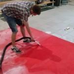 Hloubkové čištění koberce u zákazníka Praha