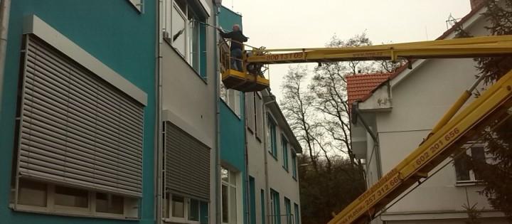 Výškové mytí oken Praha