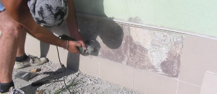 Oprava fasády Drásov