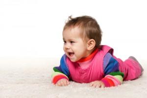čištění koberců v dětském pokoji